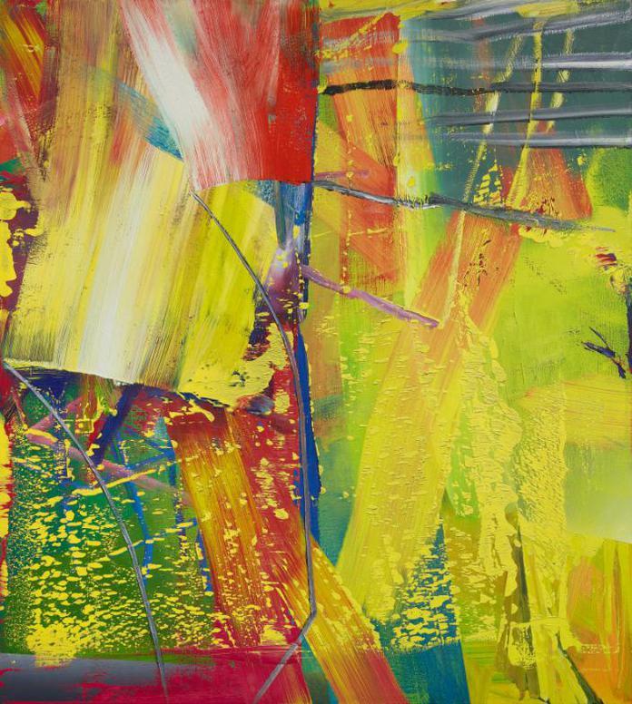 Gerhard Richter-Kerzenschein (Candlelight)-1984