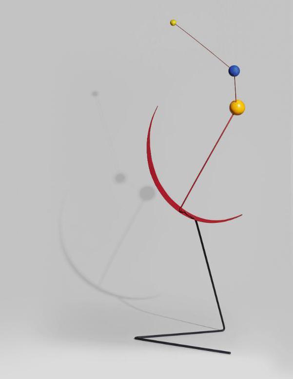 Alexander Calder-Red Crescent-1951
