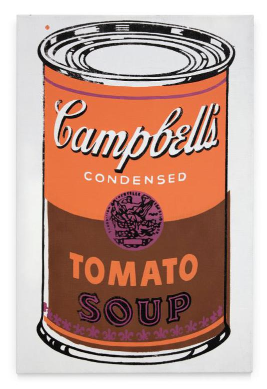 Andy Warhol-Colored Campbells Soup Can-1965