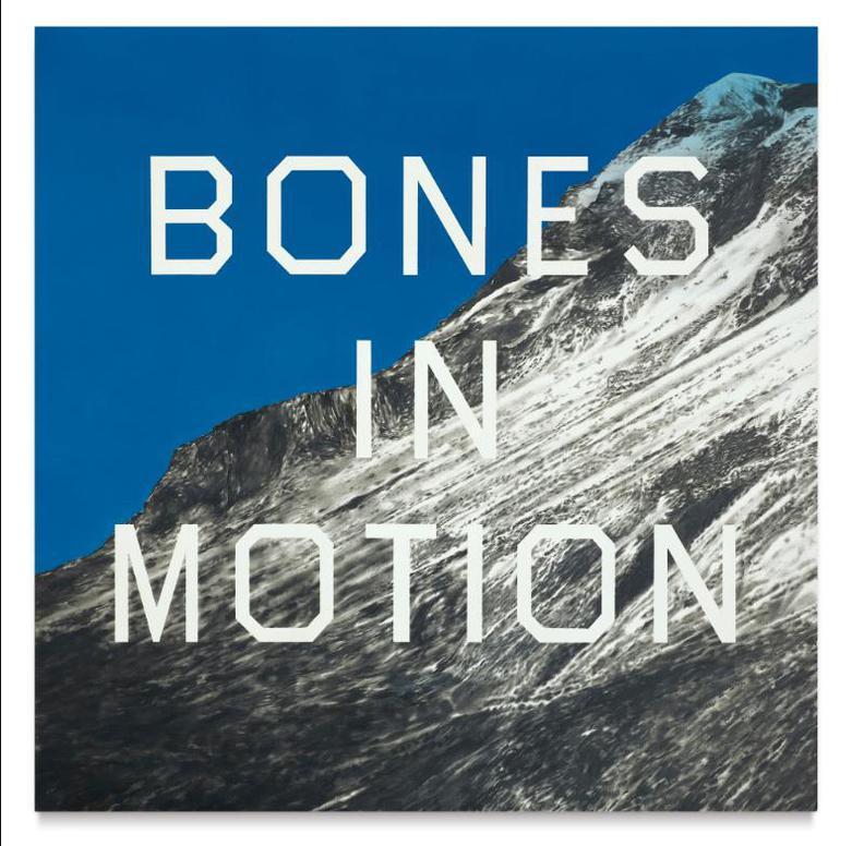Ed Ruscha-Bones In Motion-2007