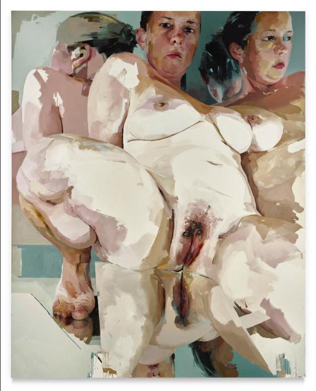 Jenny Saville-Reflective Flesh-2003