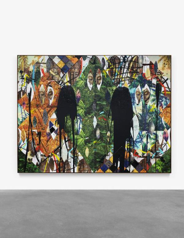 Rashid Johnson-Untitled Escape Collage-2019