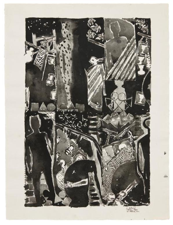 Jasper Johns-The Seasons-1989