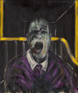 Francis Bacon-Study For A Head-1952