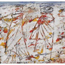 Jean Dubuffet-Deux Bedouins Au Desert-1948