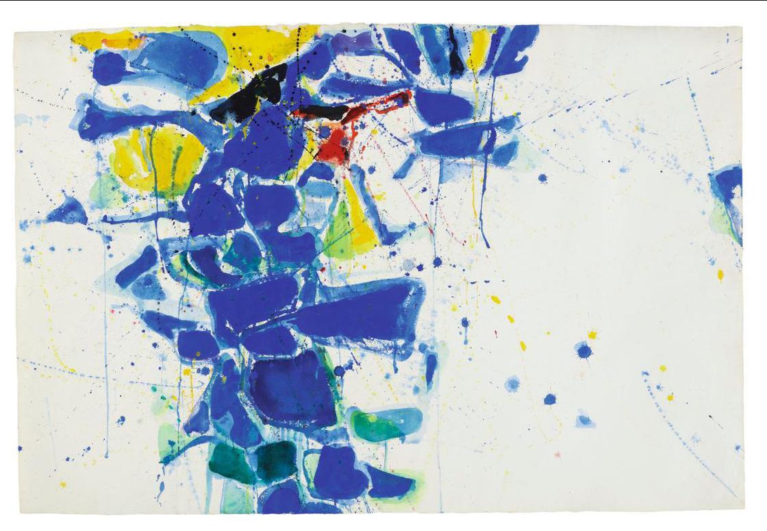 Sam Francis-Middle Blue-1957