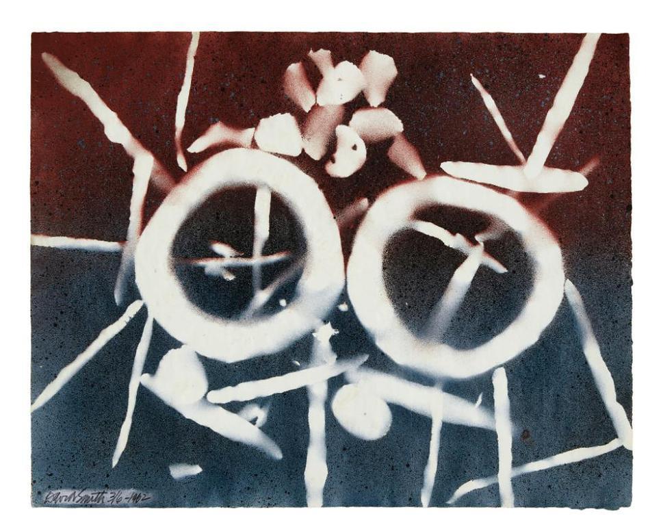 David Smith-Untitled (Two Circles)-1962