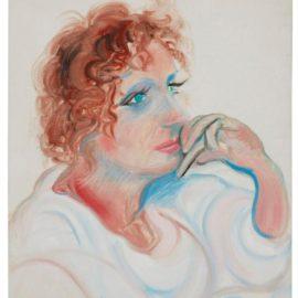 David Hockney-Celia I-1984