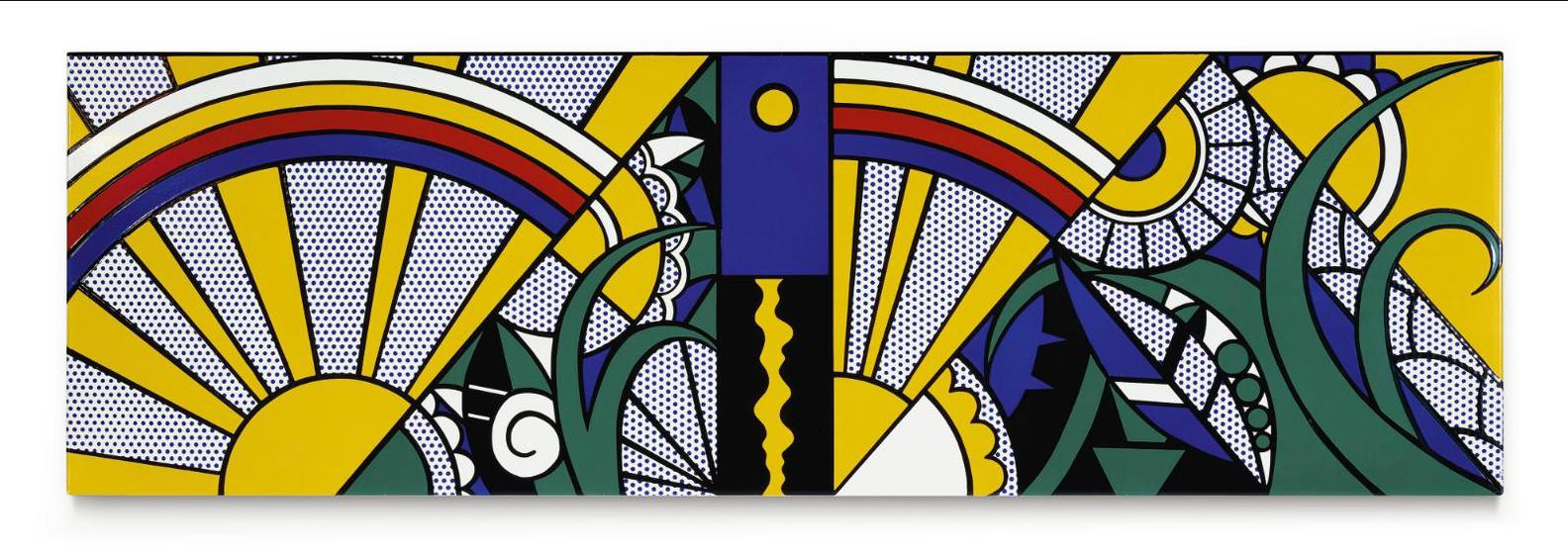 Roy Lichtenstein-Composition-1969