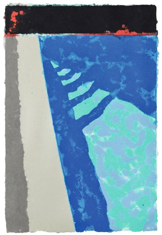 David Hockney-Steps With Shadow (Paper Pool 2)-1978