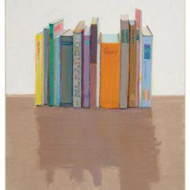 Wayne Thiebaud-Vertical Books-1992
