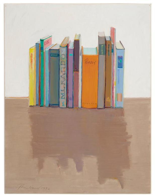 Wayne Thiebaud-Vertical Books-1992