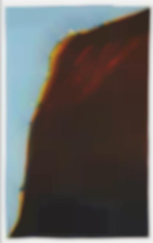 Wayne Thiebaud-Steep Hill (Untitled Landscape)-1965