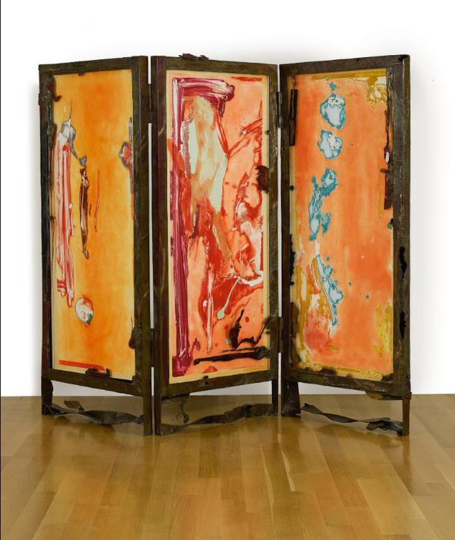 Helen Frankenthaler-Gateway Screen (Harrison 154.2)-1988