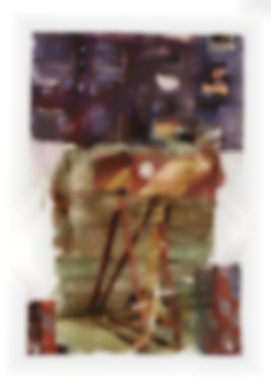 Robert Rauschenberg-Street Vanity (Anagram)-1996