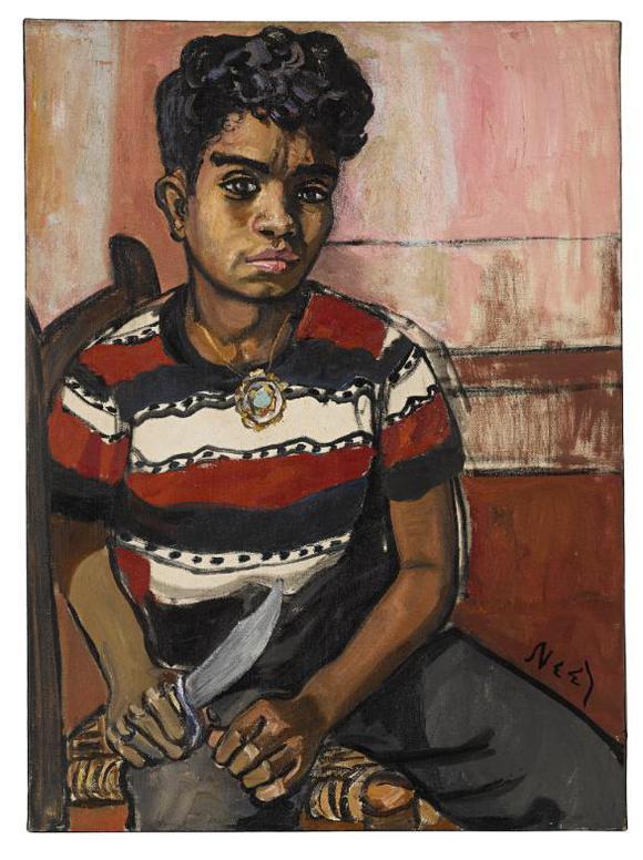 Alice Neel-Georgie Arce No. 2-1955