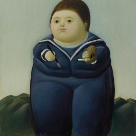 Fernando Botero-Self-Portrait At The Age Of Four-1966