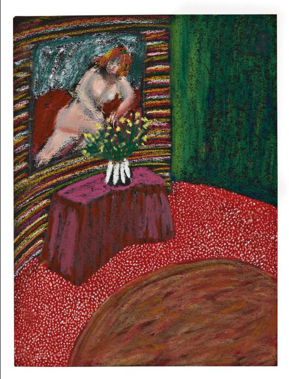 Lucas Samaras-Untitled (July 4, 1962)-1962