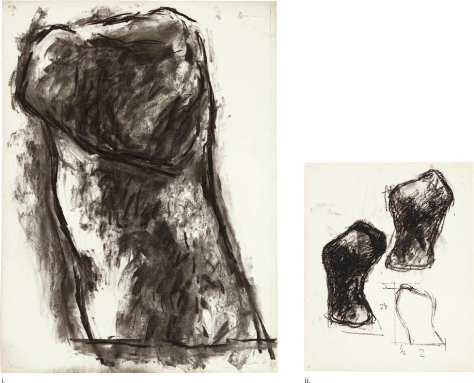 William Tucker - I. Untitled (Study For Sculpture) II. Study For Gaia [Two Works]-1988