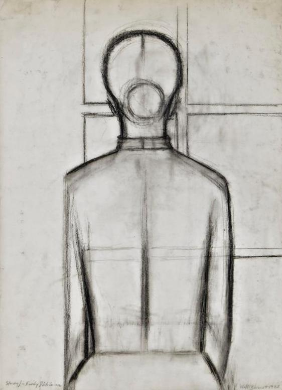 Will Barnet-Study For Emily Dickinson-1988
