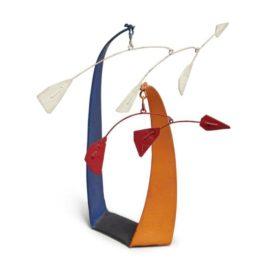 Alexander Calder-Red Flags, White Flags-1946