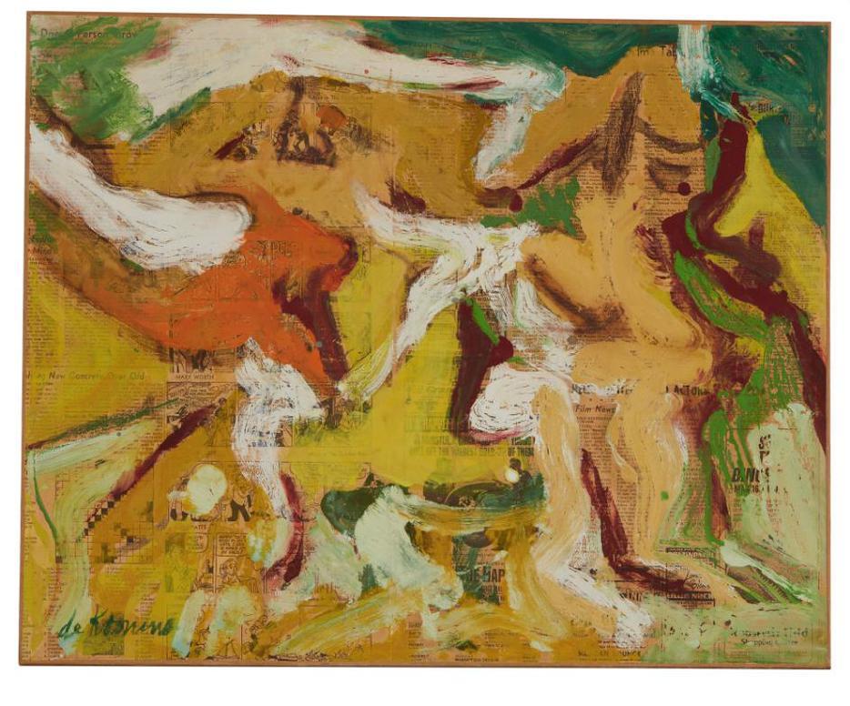 Willem de Kooning-The Women-1966