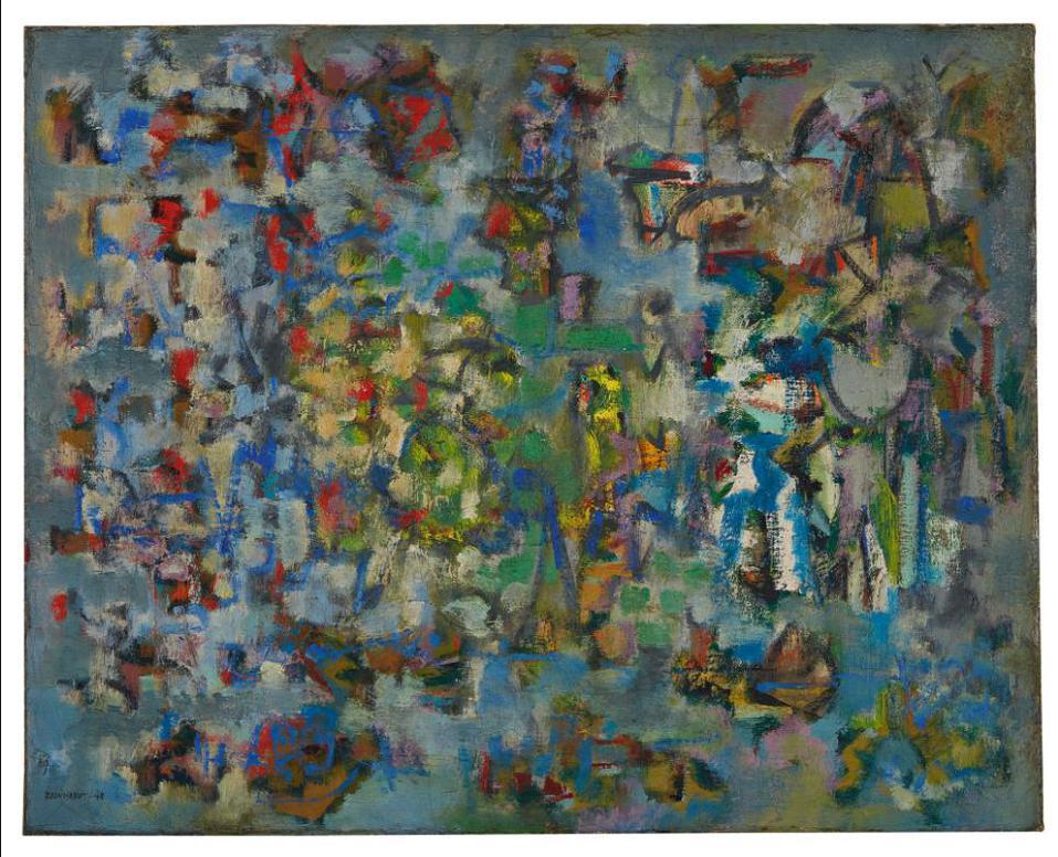 Ad Reinhardt-Untitled-1948
