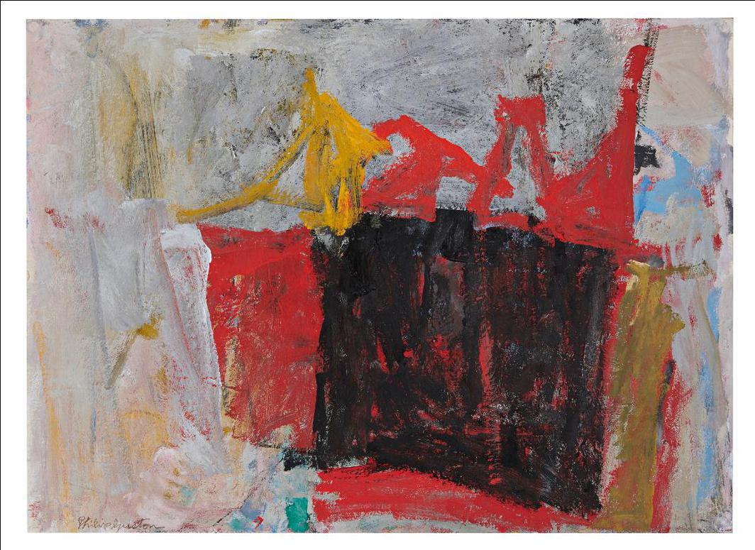 Philip Guston-Doyer I-1958