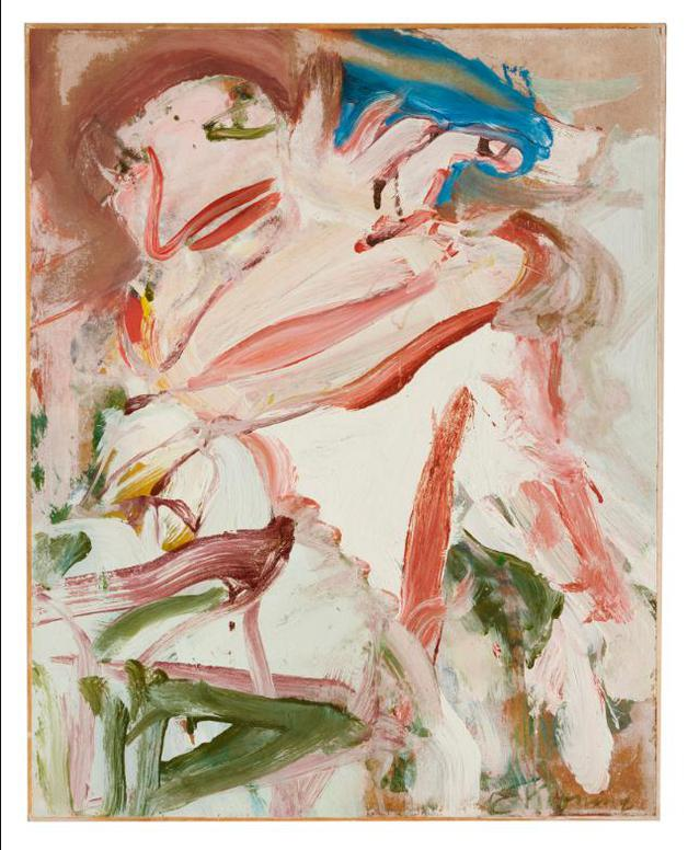 Willem de Kooning-Figure With Red Hair-1967