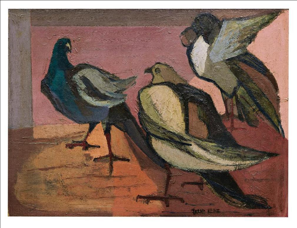 Franz Kline-Untitled-1945