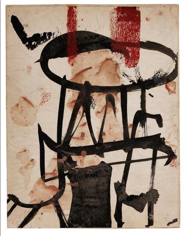 Franz Kline-Untitled-1949