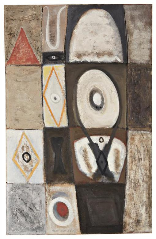 Adolph Gottlieb-Evil Eye-1946