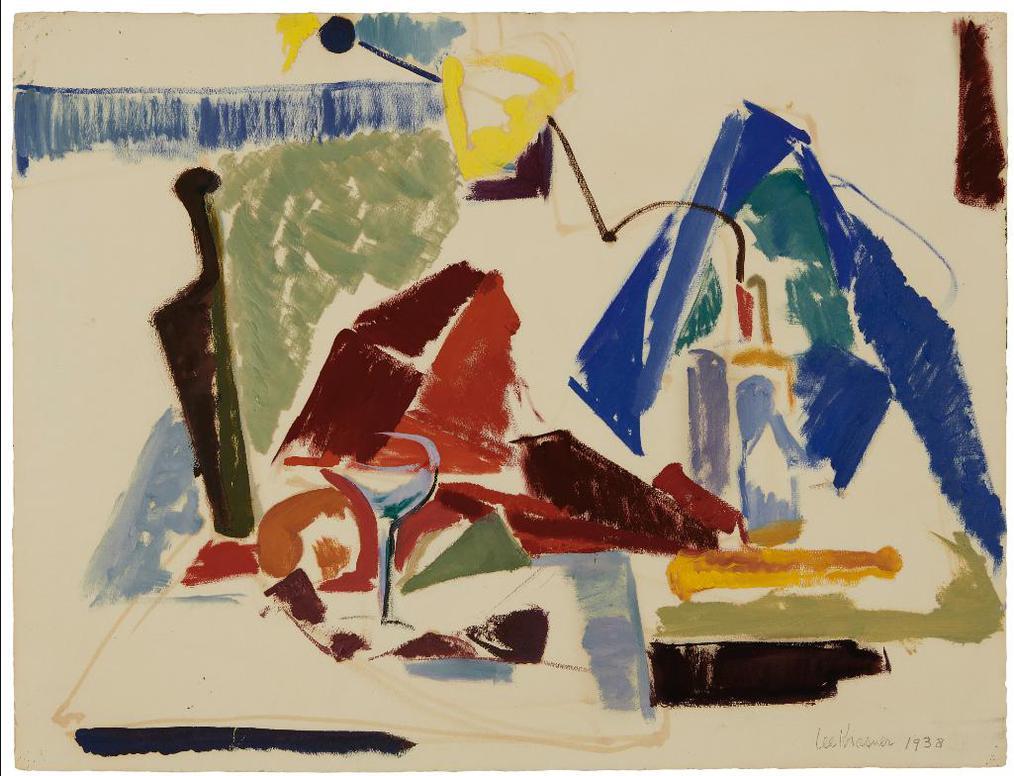 Lee Krasner-Untitled-1938