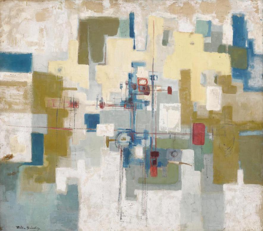 Zilia Sanchez - Untitled-1960