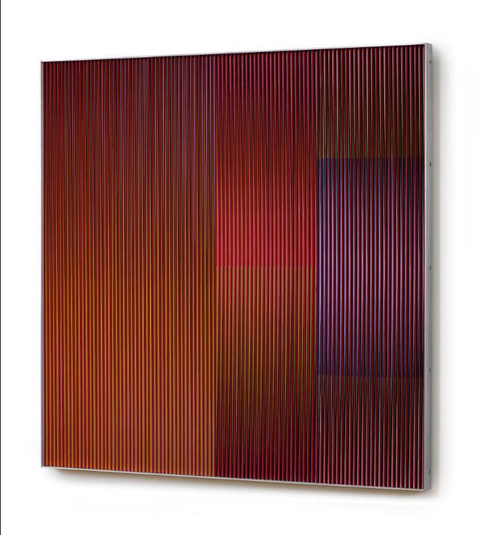 Carlos Cruz-Diez-Physichromie No. 824-1975