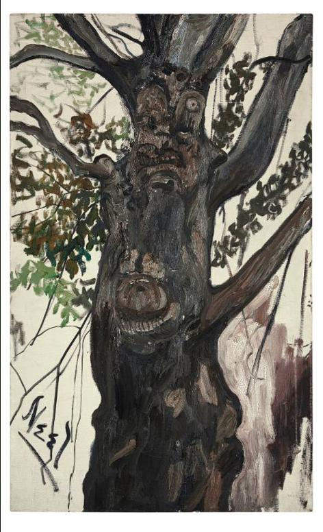 Alice Neel-Tree-1960