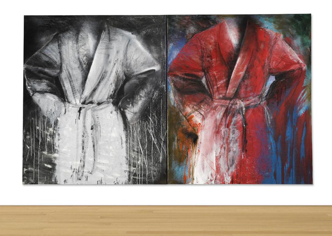 Jim Dine-The 2 Winton Robes-1984