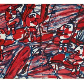 Jean Dubuffet-Le Vaste Monde-1982