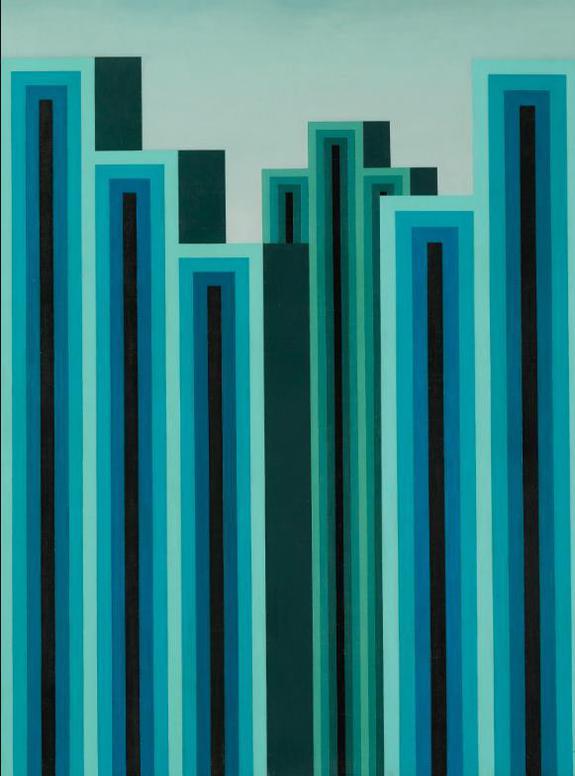 Roberto Aizenberg - Pintura-1975