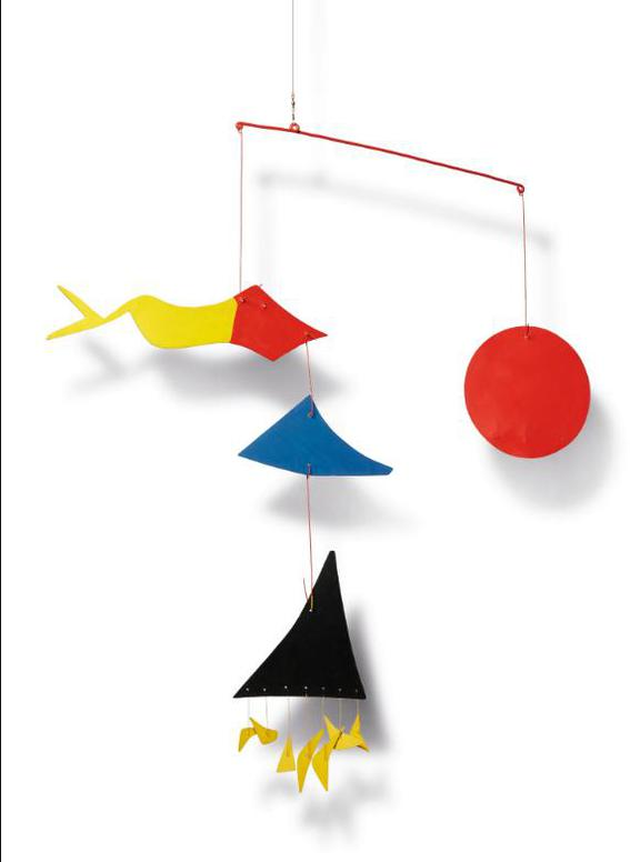 Alexander Calder-Poisson Y-1976
