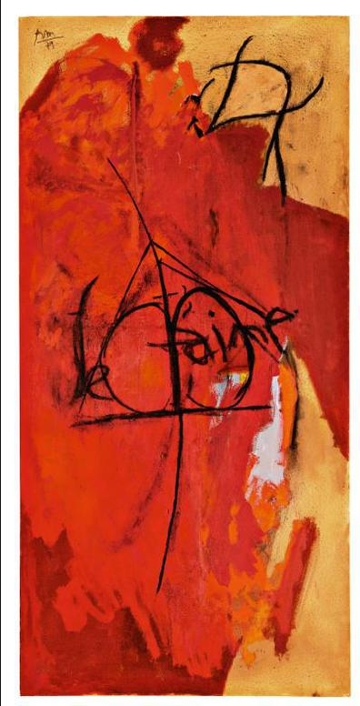 Robert Motherwell-Guillotine No. 2-1980