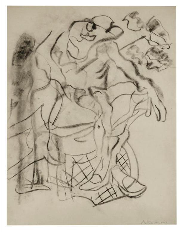 Willem de Kooning-Untitled-1975