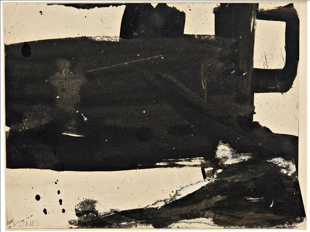 Franz Kline-Study For Placidia-1960