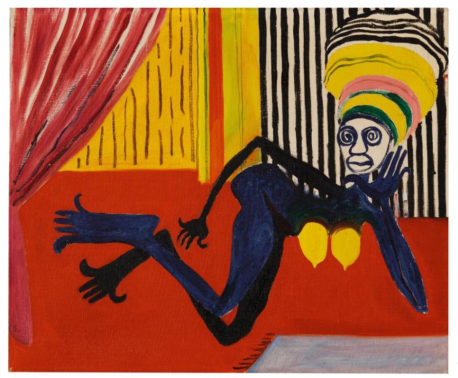 Alexander Calder-Odalisque-1945