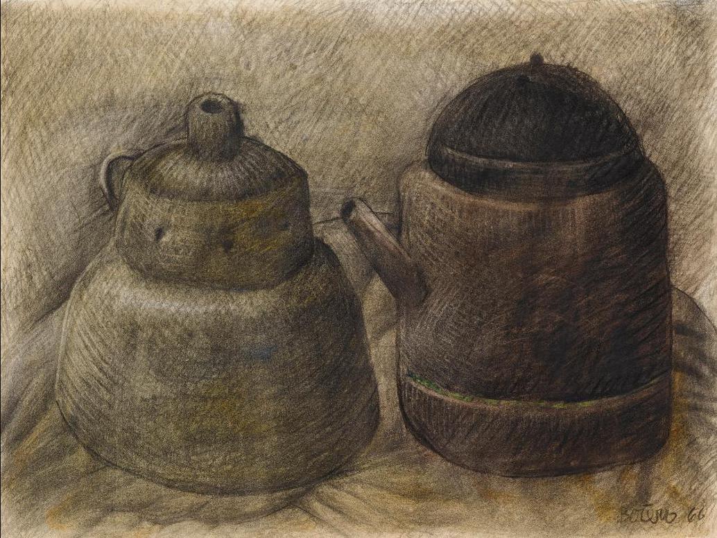 Fernando Botero-Still Life-1966