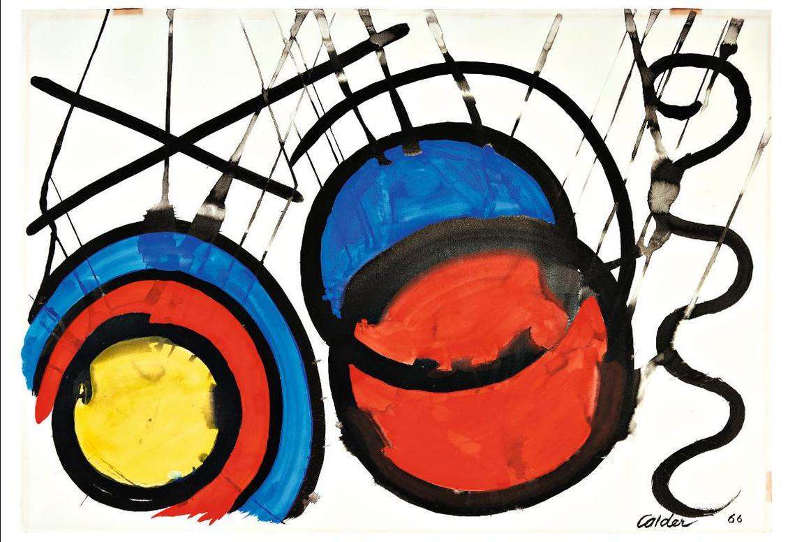 Alexander Calder-Engulfing-1966