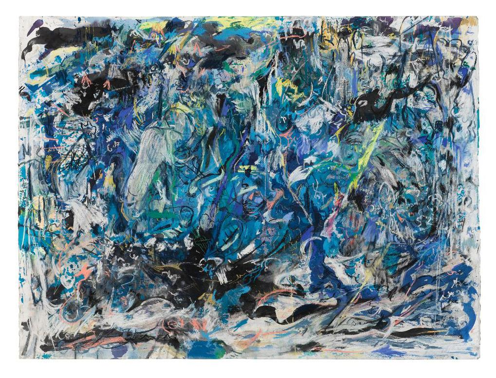 Cecily Brown-Sirens And Shipwrecks-2019