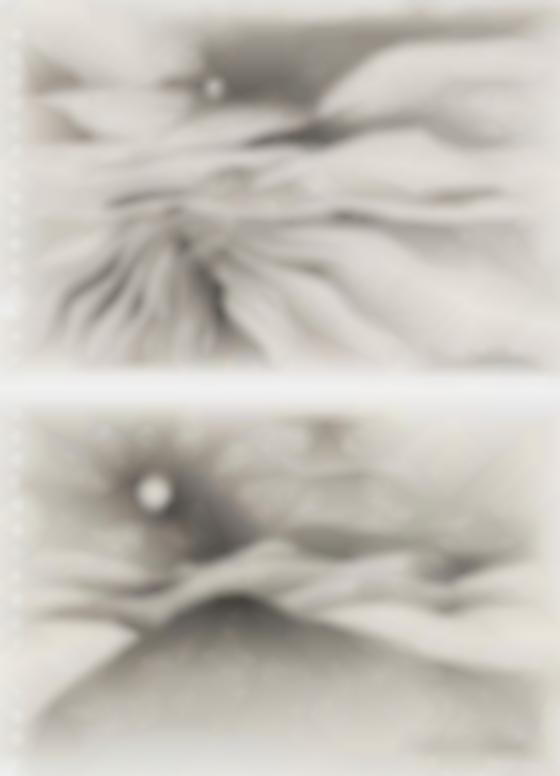 Lee Bontecou-Untitled [2 Works]-1990