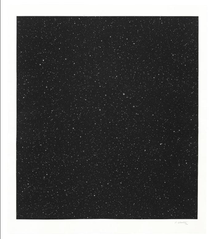 Vija Celmins-Untitled (Large Night Sky)-2016