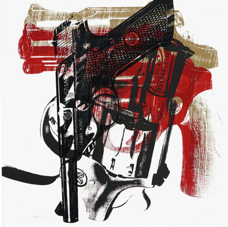 Andy Warhol-Guns-1981